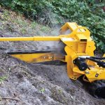 RTX250 trencher vermeer tree care
