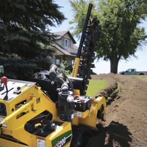 RTX200 trencher vermeer tree care